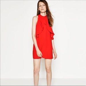 Zara Red dress Small